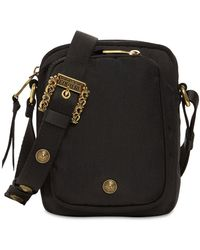 Versace Jeans Couture Couture Nylon Crossbody Bag - Black