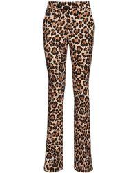 Blumarine Pantaloni Stampati Stretch - Multicolore