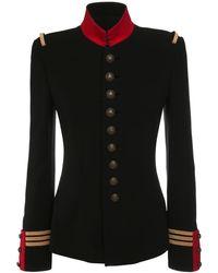 Ralph Lauren Collection Wilmington ウールジャケット - ブラック