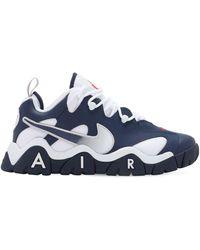 Nike 'Air Barrage' High-Top-Sneakers - Blau