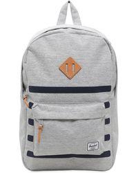 Herschel Supply Co. - Heritage Print Stripe Backpack - Lyst