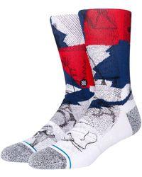 Stance Wintercount Halftone Cotton Blend Socks - Multicolor