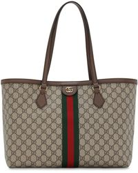 Gucci Ophidia Gg Supreme Original トートバッグ - ブラウン