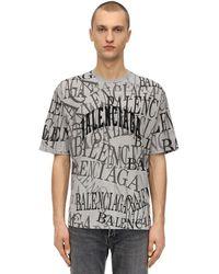 Balenciaga - Chinatown コットンジャージーtシャツ - Lyst