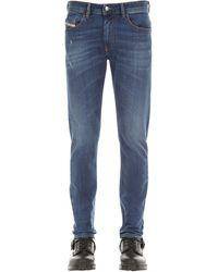 """DIESEL 17cm Jeans Aus Denim """"thommer"""" - Blau"""