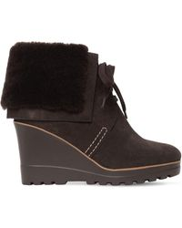 See By Chloé Wedge Boots - Brown