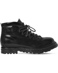 Officine Creative - Polished Leather Boots - Lyst