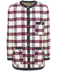 Gucci Твидовый Пиджак Из Шерсти - Многоцветный