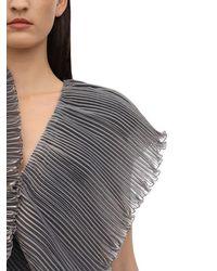 Lanvin Rüschenkleid - Grau