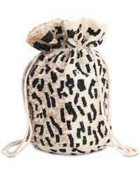 Ganni Hand Beaded Accessories Bag - Multicolour