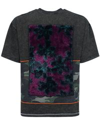 P.a.m. Perks And Mini Oversize Printed Cotton T-shirt - Black