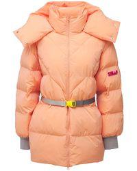 Stella McCartney Куртка Из Нейлона С Ремнем - Розовый