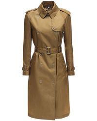 Burberry Lvr Exclusive - Trench-coat En Econyl Oban - Neutre
