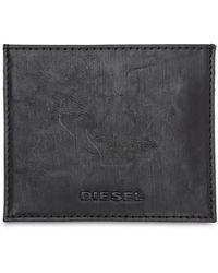 DIESEL - レザーカードホルダー - Lyst