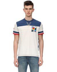 Napapijri ロゴ コットンジャージーtシャツ - ホワイト