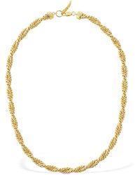 Missoma Marina Double Chain Necklace - Metallic