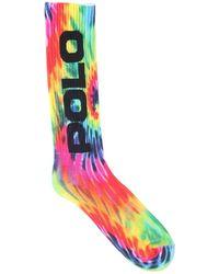 Polo Ralph Lauren Socken Mit Druck - Mehrfarbig