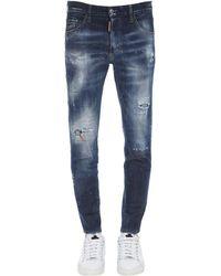 DSquared² コットンデニムジーンズ 15cm - ブルー