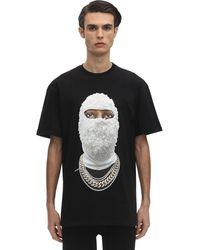 ih nom uh nit Camiseta con estampado de cara - Negro