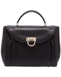Ferragamo - Small Rainbow Leather Bag - Lyst