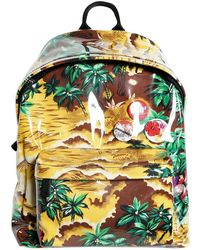 DSquared² - Plastic Covered Printed Canvas Backpack - Lyst