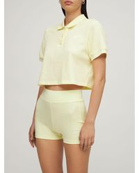 adidas Originals Booty-shorts - Gelb