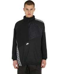 Nike Nsw Taped Patchwork Track Jacket - Black