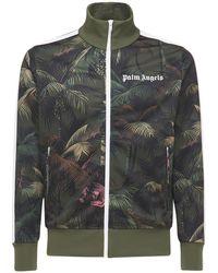 Palm Angels Trainingsjacke Mit Logo - Mehrfarbig