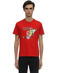 Versace Jeans - プリントtシャツ - Lyst