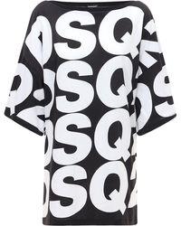 DSquared² オーバーサイズtシャツウェア - ブラック