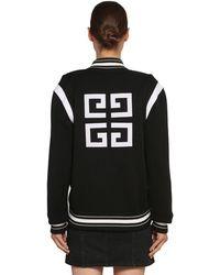 Givenchy ウールニット ボンバージャケット - ブラック