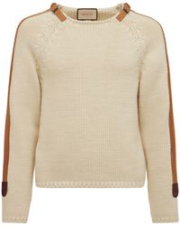 Gucci ウールニットセーター - ホワイト