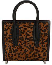 """Christian Louboutin Borsa Mini """"paloma"""" Leopard - Multicolore"""
