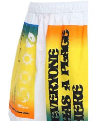 Converse X Rokit Baggie Shorts - Weiß