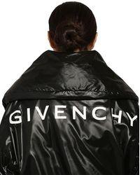 Givenchy Gepolsterte, Gesteppte Jacke Aus Nylon - Schwarz