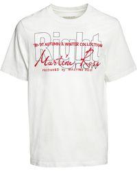 Martine Rose Right コットンtシャツ - ホワイト