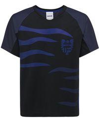 Koche Flames テック素材ジャージーtシャツ - ブラック