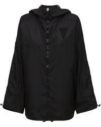 NO KA 'OI Lifestyle Ultralight Nylon Jacket - Black