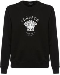 Versace - コットンスウェットシャツ - Lyst