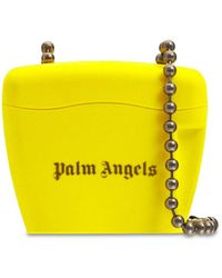 Palm Angels Сумка Mini Padlock - Желтый