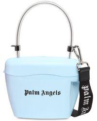 Palm Angels トップハンドルバッグ - ブルー