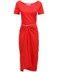 Marni - Платье Из Хлопка - Lyst