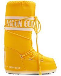 Moon Boot Icon Nylon S - Yellow