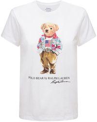 Polo Ralph Lauren Bear コットンtシャツ - ホワイト