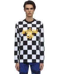 Alife Artifical Life Football Kit Ls T-shirt - Black