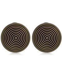 Missoni - Graphic Modernist Resin Clip-on Earrings - Lyst