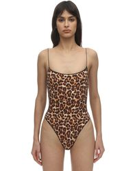 Tropic of C Lvr Sustainable The C One Piece Swimsuit - Braun