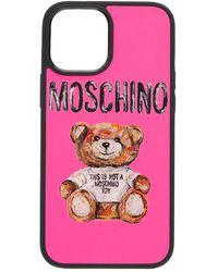 Moschino Чехол Iphone 12pro Max - Многоцветный