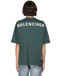 Balenciaga - コットンtシャツ - Lyst