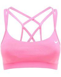 Nike ライトサポートスポーツブラ - ピンク